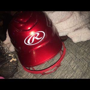 Softball/baseball helmet